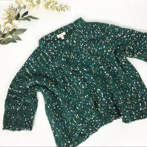 Freeway Chunky Knit Slouchy drop Sleeve Sweater